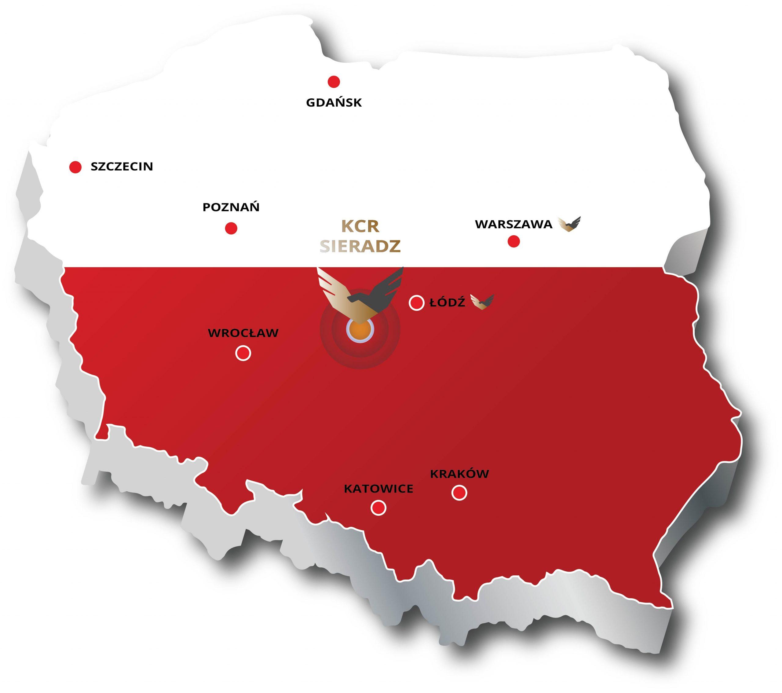 Jesteśmy w centrum Polski
